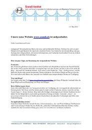 Tipps für die Nutzung der Homepage - Szondi-Institut