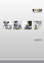 Werte-Broschüre - KOLDI