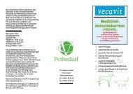 Produktinformation Dorschlebertran - VC Petbedarf