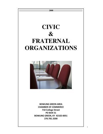 civic & fraternal organizations - Community - Bowling Green Area ...