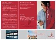 Folder TAU-KOLLEG - Krankenhaus St. Josef Braunau