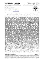 SchiedsamtsZeitung - Bund Deutscher Schiedsmänner und ...