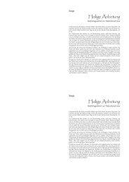Anbetung A6 Heft - katholisch-apostolisch
