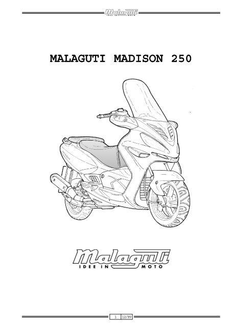 Polea Fija Secundario Embrague Motor Malaguti Contraseña Madison 250 Yamaha