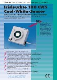 Prospekt zu Iris 100  CWS - Planilux