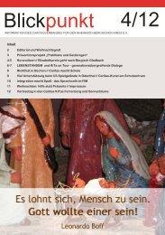 Blickpunkt Caritas 4-2012 - Erzbistum Köln