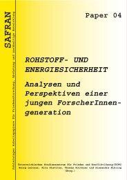 Rohstoff- und Energiesicherheit - Friedensburg Schlaining | Peace ...
