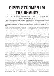 GIPFELSTÜRMEN IM TREIBHAUS? - Attac Berlin