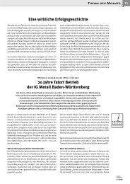 20 Jahre Tatort Betrieb der IG Metall Baden ... - FBU Rolf Satzer