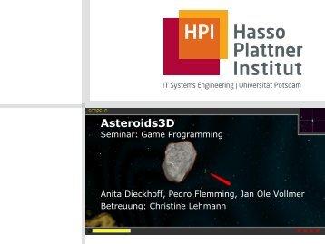 Asteroids3D – Endpräsentation Seminar: Game Programming
