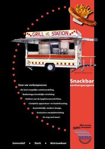 Snackbar aanhangwagens - Borco-Höhns Gmbh + Co. KG