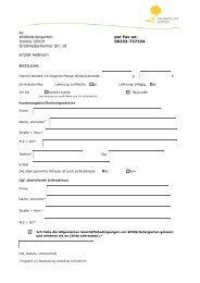 Bestellformular als pdf - Wildkräutergarten