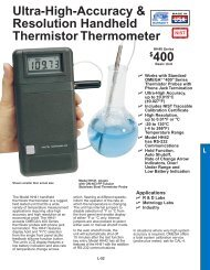 $400 Ultra-High-Accuracy & Resolution Handheld Thermistor ...