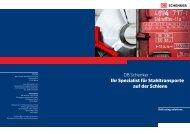 DB Schenker – Ihr Spezialist für Stahltransporte auf der Schiene