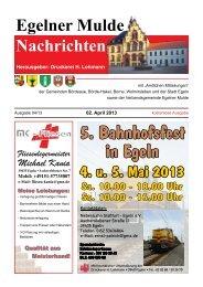 Egelner Nachrichten April 2013 PDF-Dokument - Druckerei Lohmann