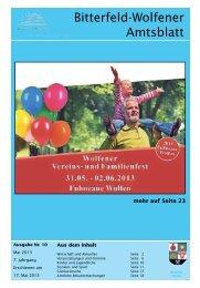 Amtsblatt 10-13 erschienen am 17.05.2013.pdf - Stadt Bitterfeld ...