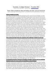 Selbstverständnis des Islam und Stellung zum Juden - Evangelische ...
