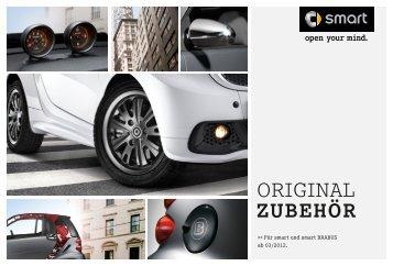 Original Zubehör Für smart und smart BRABUS ab 03/2012