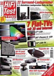 HiFi Test 3/11 - PSB Lautsprecher Deutschland