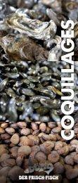 Prospekt Coquillages - Frisch-Fisch