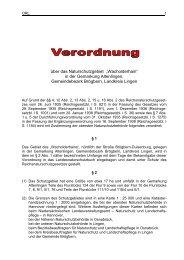 Verordnung Naturschutzgebiet Wacholderhain