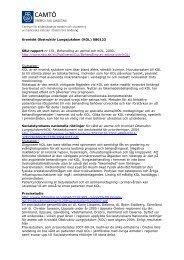Microsoft Word - Kroniskt Obstruktiv Lungsjukdom.doc - Örebro läns ...