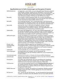 Begriffsdefinitionen für Stoffe, Zubereitungen und Erzeugnisse ...