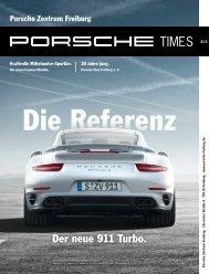 Der neue 911 Turbo. - Porsche Zentrum Freiburg