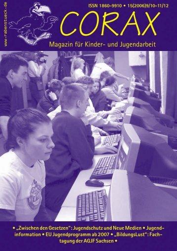 corax 9-12/2006 - RabenStück Verlag
