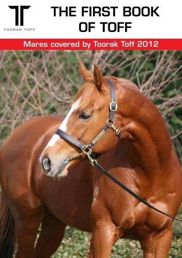 The First Book of Toff here - Rosemont Stud