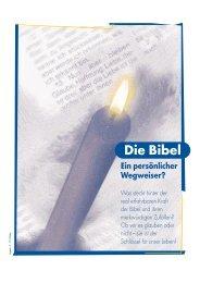 Die Bibel - Ein persönlicher Wegweiser (PDF)