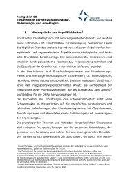 Profil - Deutsche Hochschule der Polizei