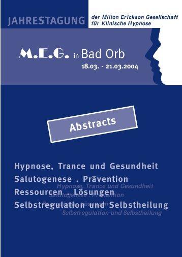 Abstracts 27.11.03 (Page 1) - MEG Jahrestagung 2014