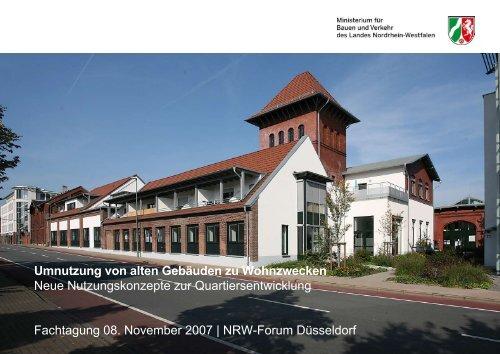 Umnutzung von alten Gebäuden zu Wohnzwecken Neue ...
