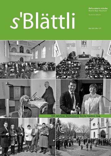 Mai 2013 - Reformierte Kirche Zug