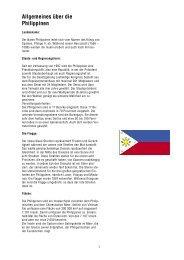 Länderpaket Philippinen