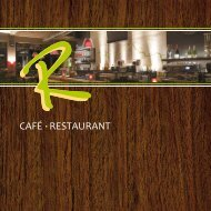 R-Cafe Speisekarte als PDF Download