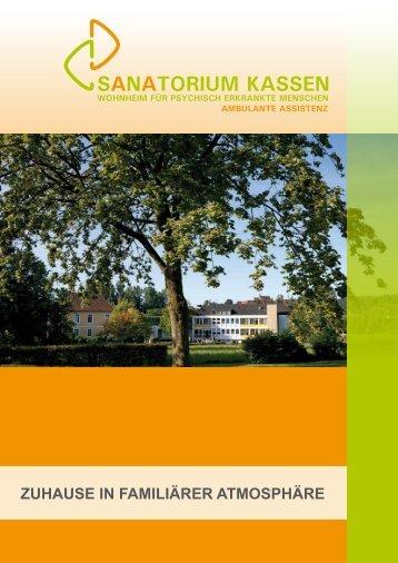 zuhause in familiärer atmosphäre - Sanatorium Kassen OHG
