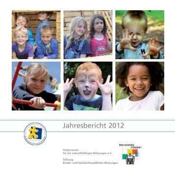 Jahresbericht 2012 - Stiftung kinder- und familienfreundliches ...