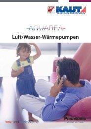Luft/Wasser-Wärmepumpen - Alfred Kaut GmbH + Co.