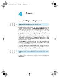 4 Enzyme - Biochemie - Nachhilfe