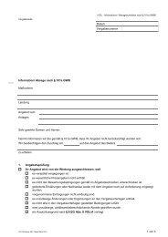 Anlage 4 (Informationen und Mitteilungen VOL Standard)