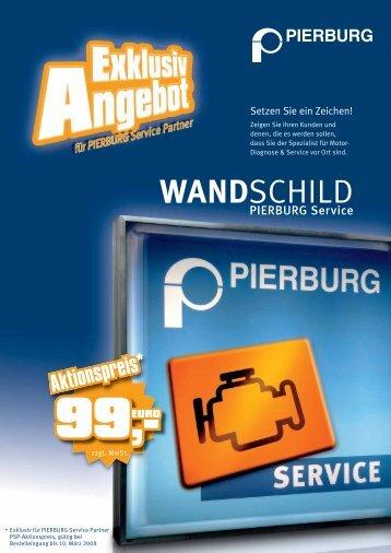 WANDSCHILD - Pierburg - MS Motor Service International GmbH