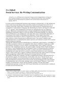 Postal Services: Re-Writing Communication - OpenArchive@CBS - Page 3