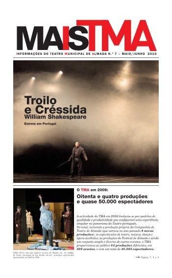 Troilo e Créssida - Companhia de Teatro de Almada