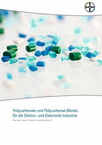 Polycarbonate und Polycarbonat-Blends für die Elektro- und ...
