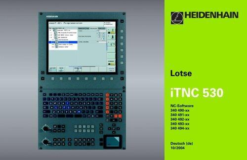 iTNC 530 Lotse - heidenhain