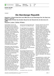 Die Starnberger Republik (PDF; 43 KB) - Netzwerk Recherche