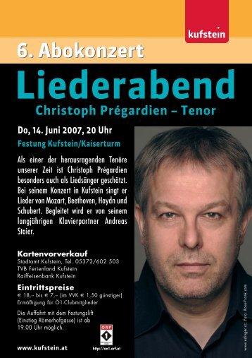Liederabend - Kufstein