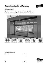 Barrierefreies Bauen - MAMA - Landert Motoren AG
